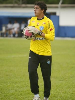 Paulo Wanzeler goleiro Paysandu (Foto: Marcelo Seabra/O Liberal)