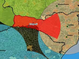 Radar será instalado no Morro da Antena (Foto: Governo de SC/Divulgação)