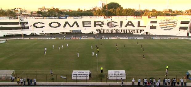 Estádio Palma Travassos, do Comercial-SP (Foto: Reprodução EPTV)