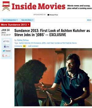 Primeiro trecho do filme sobre Steve Jobs, interpretado por Ashton Kutcher, foi divulgado (Foto: Reprodução)