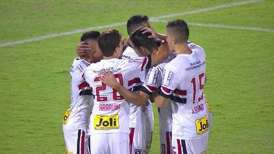 São Paulo volta a vencer, não leva gol (!) e rebaixa o São Bernardo à Série A2