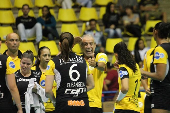 São Bernardo leva jogo para o tie break mas acaba superado pelo São Caetano (Foto: July Stanzioni / SM Press)
