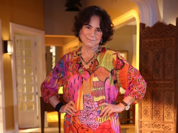Regina Duarte viverá Esther em Sete Vidas (Foto: Carol Caminha/Gshow)