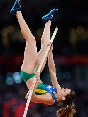 Fabiana Murer salto com vara mundial pequim