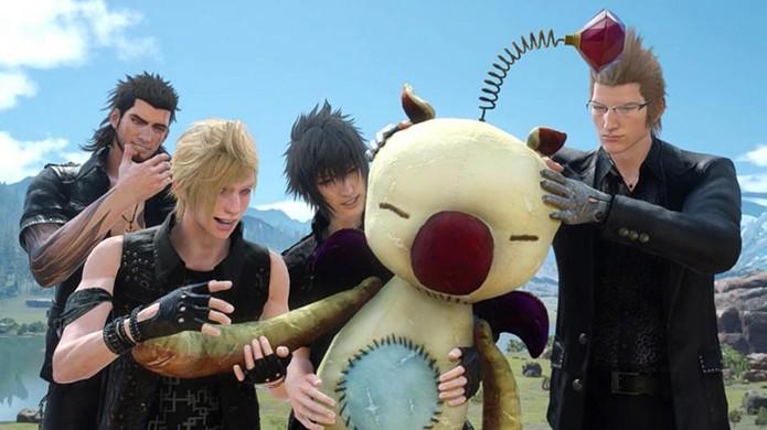 Ataque com boneco bizarro aparece em Final Fantasy XV (Foto: Reprodução/Digital Times)