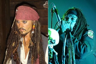 Jack Sparrow e Al Joursen (Foto: Reprodução/ Fábio Tito/ G1)