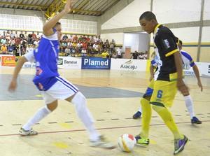 Itaporanga, Socorro, Copa TV Sergipe de Futsal 2014 (Foto: João Áquila/GLOBOESPORTE.COM)