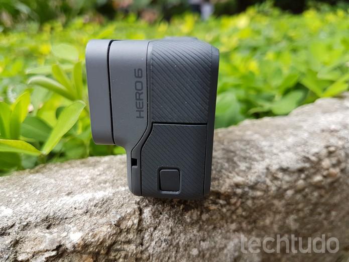 Agora é possível capturar vídeos em 4K 30 fps muito bem estabilizados (Foto: João Gabriel Balbi/TechTudo)
