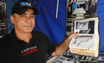 Agente diz ter acervo de 5 mil itens do Carandiru (Adriano Oliveira/G1)