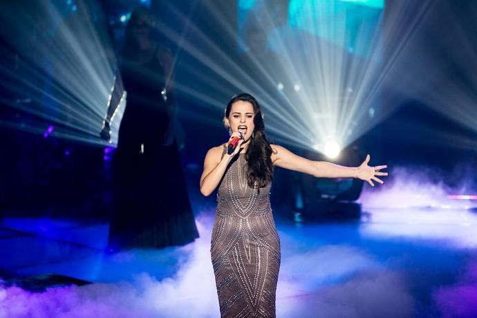 Allice Tirolla shows ao vivo (Foto: Isabella Pinheiro/Gshow)