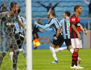 Fred gol Grêmio x Flamengo