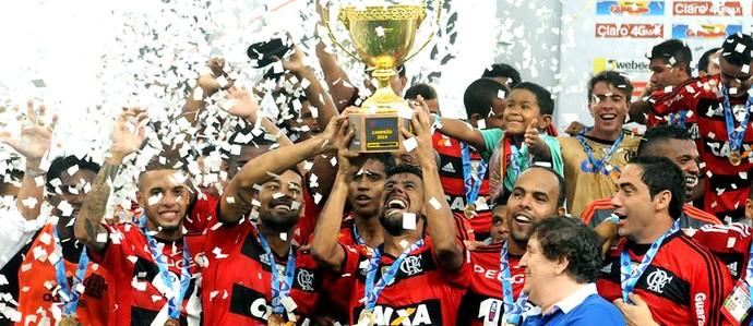 Flamengo campeão carioca (Foto: André Durão / Globoesporte.com)