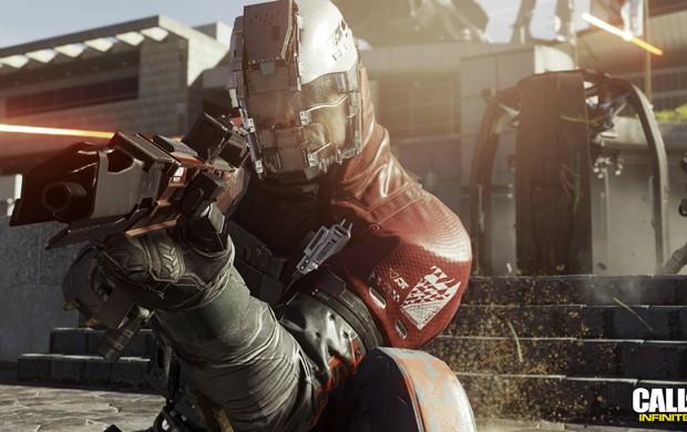 'Call of Duty: Infinite Warfare' dá continuidade à ambientação futurista que a série de games de tiro ganhou nos últimos anos (Foto: Divulgação/Activision)