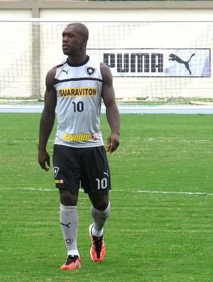 Seedorf no treino do Botafogo  (Foto: Thales Soares / Globoesporte.com)