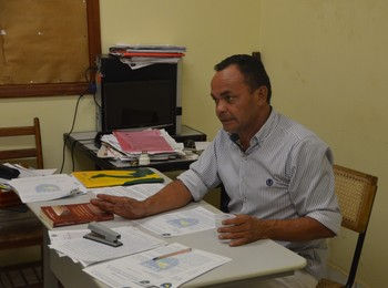 Presidente da Feab, Atevaldo Santana, presidiu a comissão disciplinar da Fafs (Foto: Murilo Lima)
