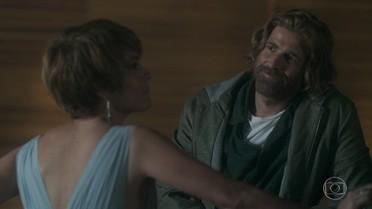 Pedro e Heloísa conversam sobre a reação de Tiago na festa de noivado