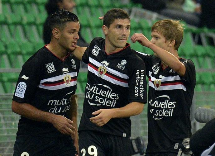Hatem Ben Arfa Nice E Saint-Etienne (Foto: AFP)