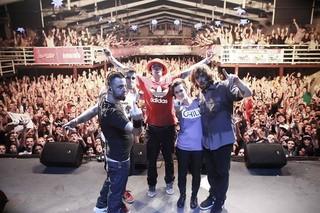Último show da banda A Banca (Foto: Fred Capello Fotografia/Facebook)