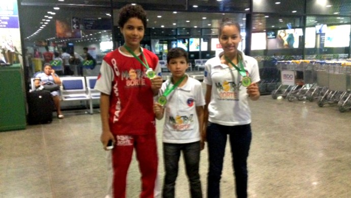 Ceará conquista três vagas na seleção brasileira de taekwondo (Foto: Fábio Ronin/Arquivo Pessoal)
