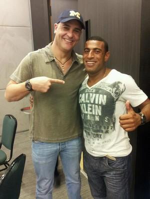 Técnico Pedrinho foi companheiro de Marcos no título palmeirense da Libertadores de 99 (Foto: Reprodução/Facebook)
