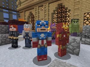 Roupas de super-heróis da Marvel serão lançadas para o game 'Minecraft' no Xbox 360 (Foto: Divulgação/Microsoft)