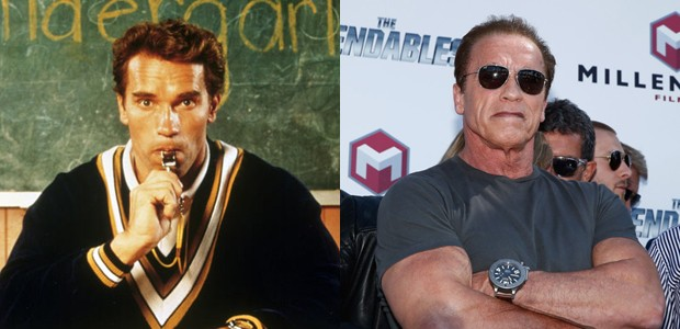 John Kimble - Arnold Schwarzenegger (Foto: Divulgação)