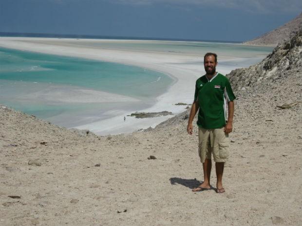 ilha de Socotra, localizada no Iêmen (Foto: Bianca Soprana)