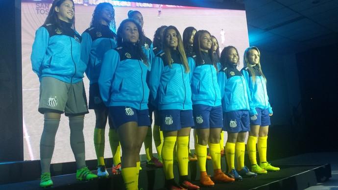 Santos Terceira Camisa Azul (Foto: Bruno Giufrida)