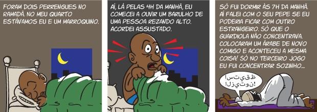 quadrinho oliveira 04 corrigido (Foto: arte esporte)