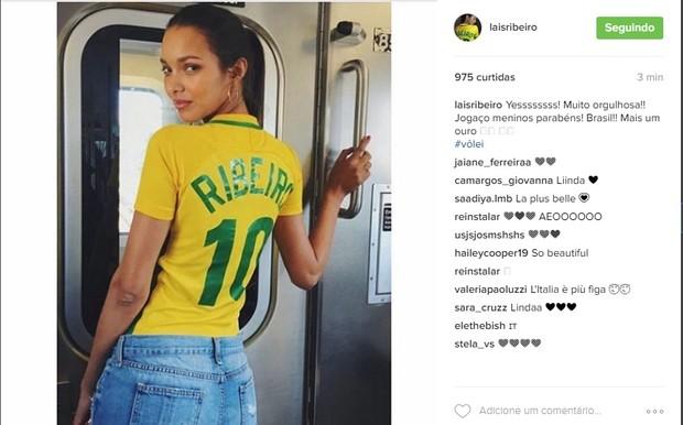 Lais Ribeiro (Foto: Reprodução/Instagram)