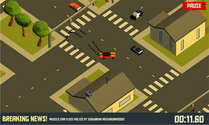 Pako é um game para Windows Phone com emocionantes perseguições policiais (Foto: Divulgação/Windows Phone Store)