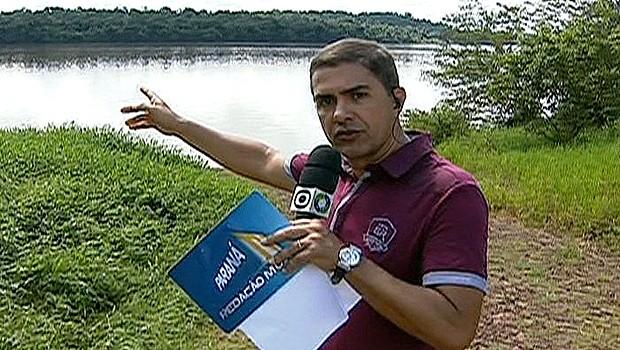 Paraná TV 1ª Edição Redação Móvel (Foto: Reprodução/ RPC TV)