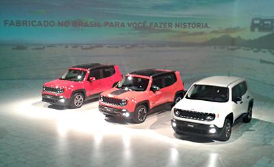 Jeep Renegade é lançado no Brasil (Foto: Tereza Consiglio/Autoesporte)
