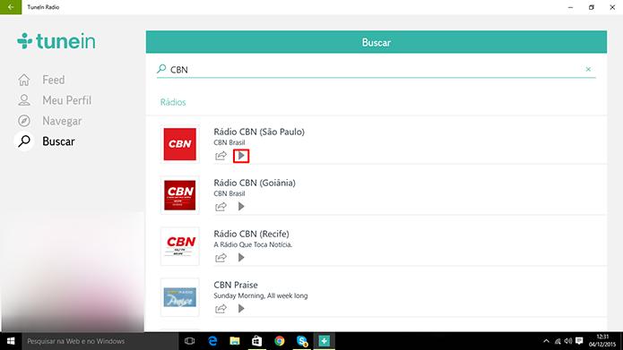 TuneIn para PC: ouça rádio online no app universal do Windows 10