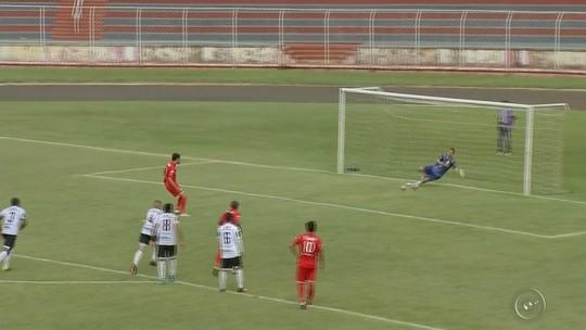 Com dois pênaltis, Noroeste busca o empate com a Inter de Limeira pela A3