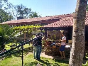 Clip foi gravado em uma chácara em Araguaína (Foto: Vinicius Cantuares/Divulgação)