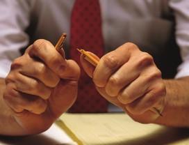 Não brigue: a raiva atrapalha o dia a dia no trabalho (Foto: Reprodução)