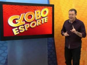 Madson Delano apresenta o Globo Esporte AL (Foto: Reprodução/TV Gazeta)