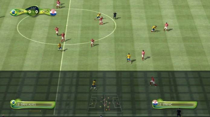 Brasil X Croácia (Foto: Reprodução / TechTudo)