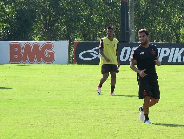 ibson flamengo treino (Foto: Janir Júnior / Globoesporte.com)