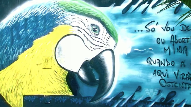 Grafite de Daniel Bloco selecionado para o torneio mundial na Espanha (Foto: Reprodução/TV Tribuna)