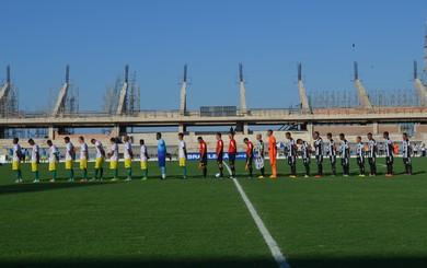 Jogo entre São Raimundo e Juazeirense foi realizado no estádio Colosso do Tapajós (Foto: Sabrina Rabelo/GloboEsporte.com)