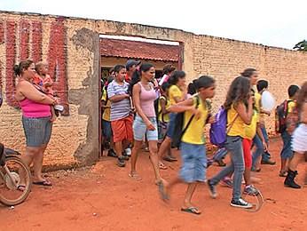 Escola Marãiwatsédé (Foto: Reprodução/TVCA)