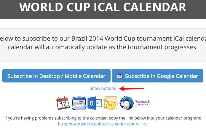 Personalizando calendário de jogos (Foto: Reprodução/Helito Bijora)