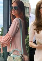 Bruna Marquezine e Kate Middleton já usam a cor do momento: rosa quartzo