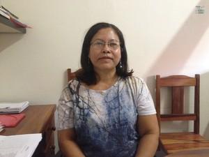 Darcy Ramos, chefe da Unidade de Tradução de Documentos Escolares (Utrade) (Foto: Dyepeson Martins/G1)