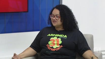 G1 entrevista candidata à reitoria da Ufam Iolete Silva