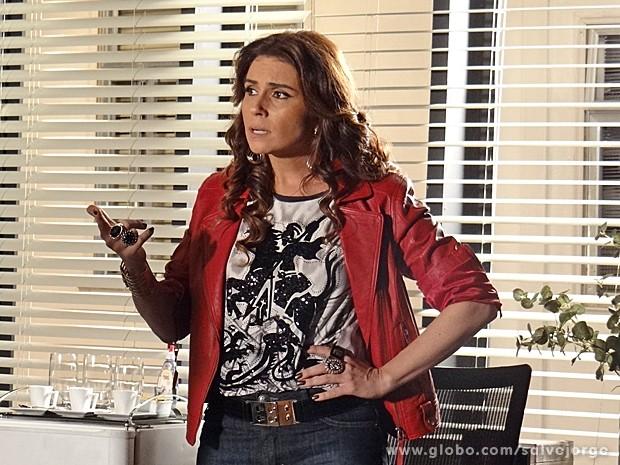 Helô descobre que Antonia será presa (Foto: Salve Jorge/TV Globo)
