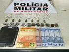 Adolescentes são detidos com drogas e munições em Nova Serrana