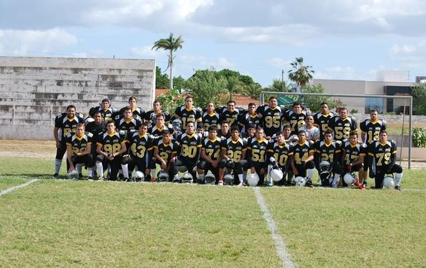 Natal Scorpions, time de futebol americano do RN (Foto: Divulgação)